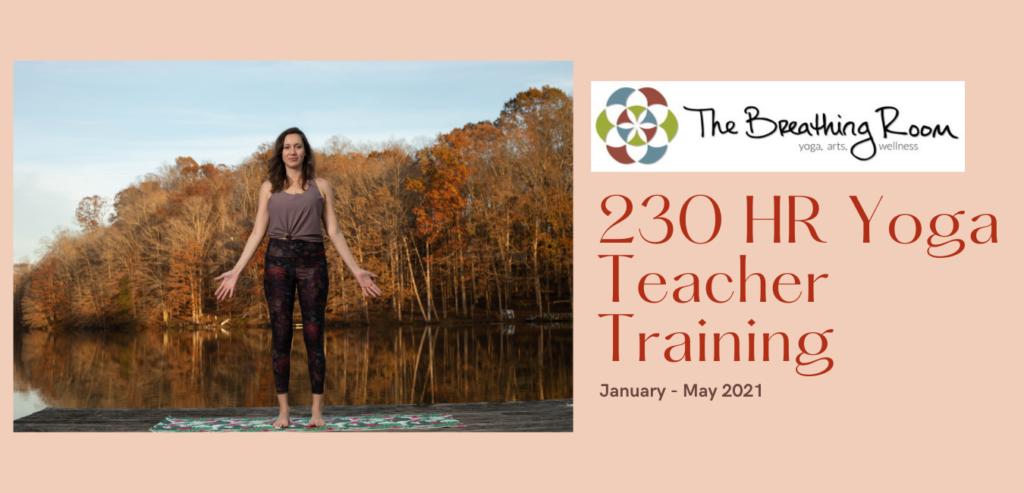 Yoga Teacher Training at The Breathing Room Winston-Salem